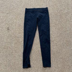 Black Cotton Aerie Leggings